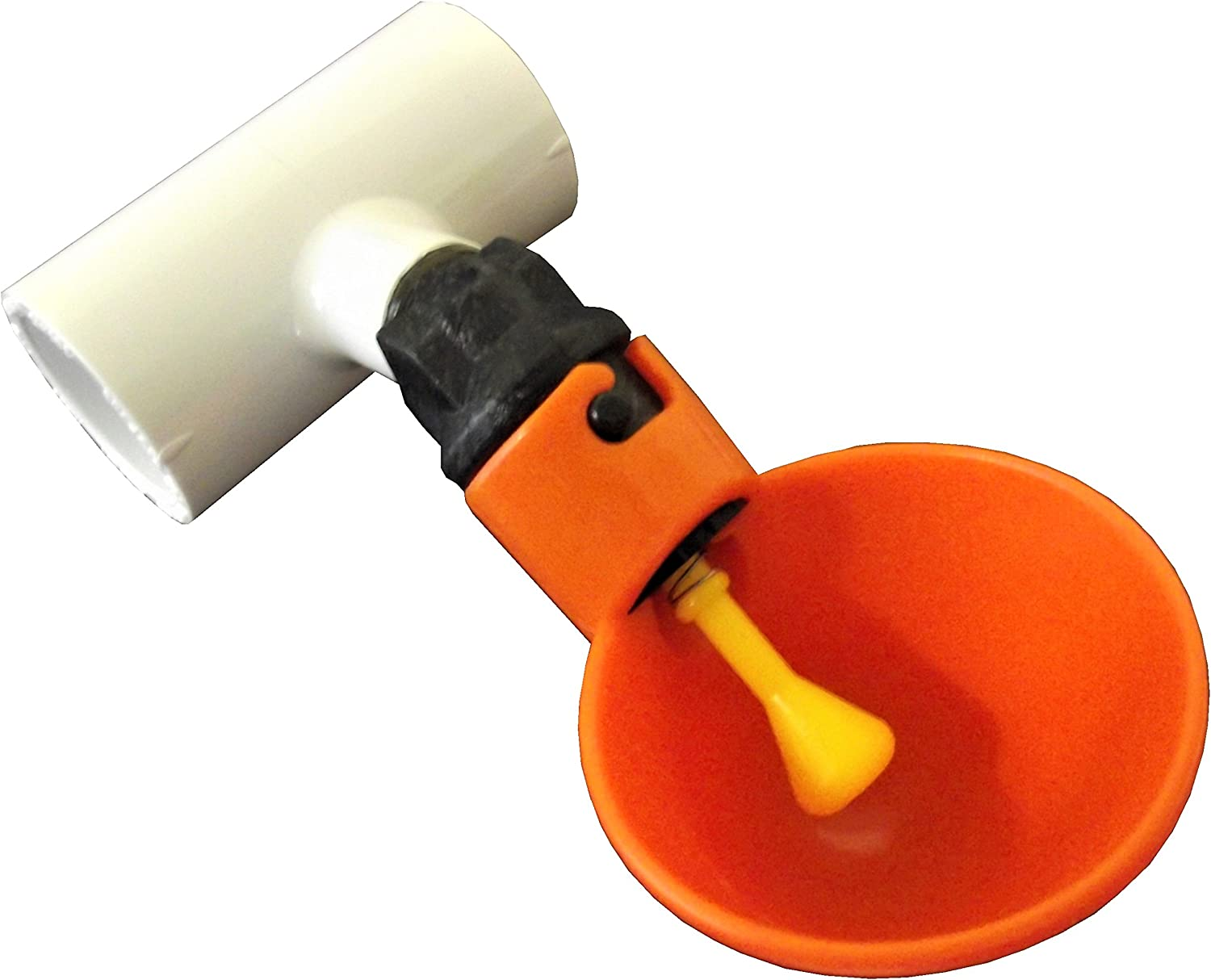 """48 1//2/"""" PVC FITTINGS FOR AUTOMATIC WATERER DRINKER CUP//NIPPLES CHICKEN POULTRY"""