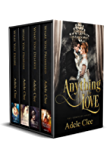 Anything for Love: Books 1-4: The Complete Series
