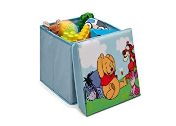 Sitzbox Hocker Faltbox - Winnie Pooh: Amazon.de: Küche & Haushalt