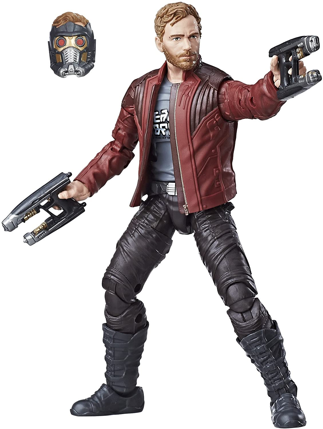 Marvel Legends: Guardianes de la galaxia Vol. 2 - Star Lord 15cm ...