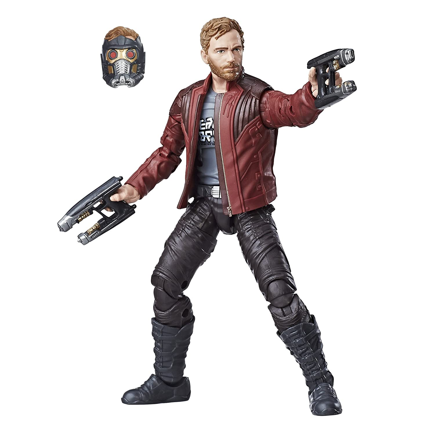 Amazon.com: Marvel Guardians of the Galaxy 6-inch Legends Series Star-Lord:  Toys & Games