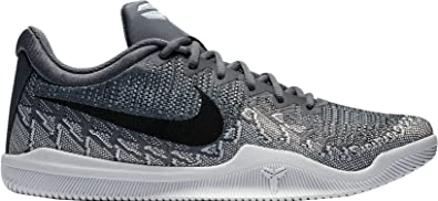 competitive price 03725 240c0 Nike Men s Mamba Rage Basketball Shoes Dark Grey Black Pure Platinum White  Size