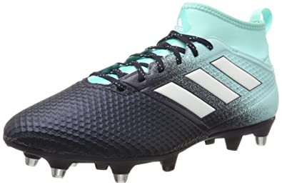 8251445d11ad adidas Men's Ace 17.3 SG Football Boots, Multicolour (Energy Aqua/Footwear  White/