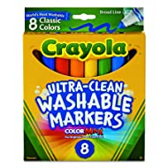 Crayola Broad Point Washable Markers (58-7808)