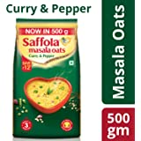 Saffola Masala Oats, Curry and Pepper, 500g