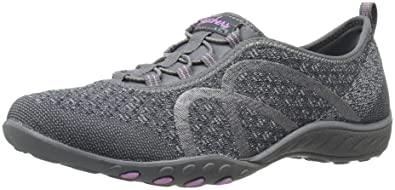 Skechers Breathe-Easy Fortune Damen Sneakers  395 EU (M)Black Meadows