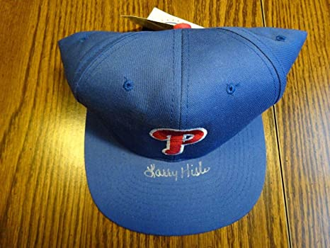 bdd00897 Larry Hisle Philadelphia Phillies Signed Auto Baseball Cap Hat ...