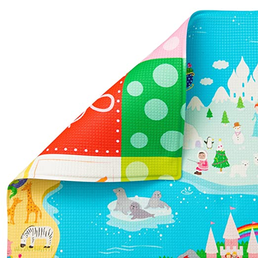 Baby Care Play Mat - Magical Islands