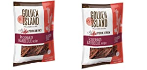 Golden Island Korean BBQ Pork 14.5 Ounce(Pack of 2)