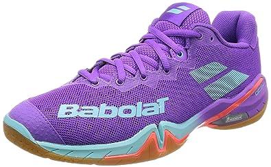 Babolat Womens Badminton Shoes Pink Pink