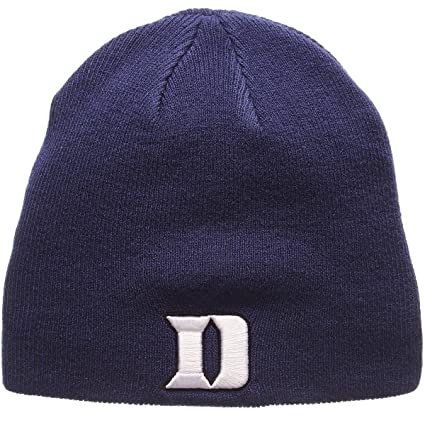Amazon.com   Zephyr Men s Duke Blue Devils Edge Knit HAT Royal ADJ ... 6839563ca05