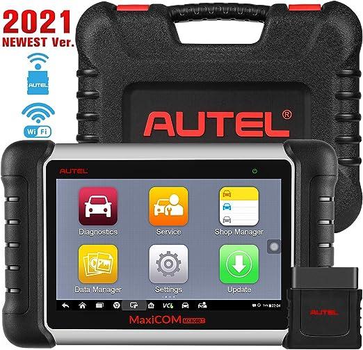Autel Maxicom Mk808bt Obd2 Diagnosegerät Auto Scanner Mit Alles System 25 Services Inkl Abs Bremsblutung Ölreset Epb Dpf Bms Sas Verbesserte Version Von Mk808 Mx808 Auto