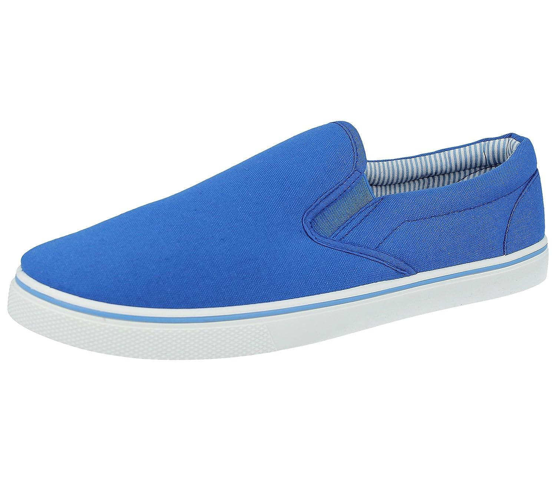 TALLA 42.5 EU. para Hombre Antideslizante sobre Lienzo Zapatos de Verano