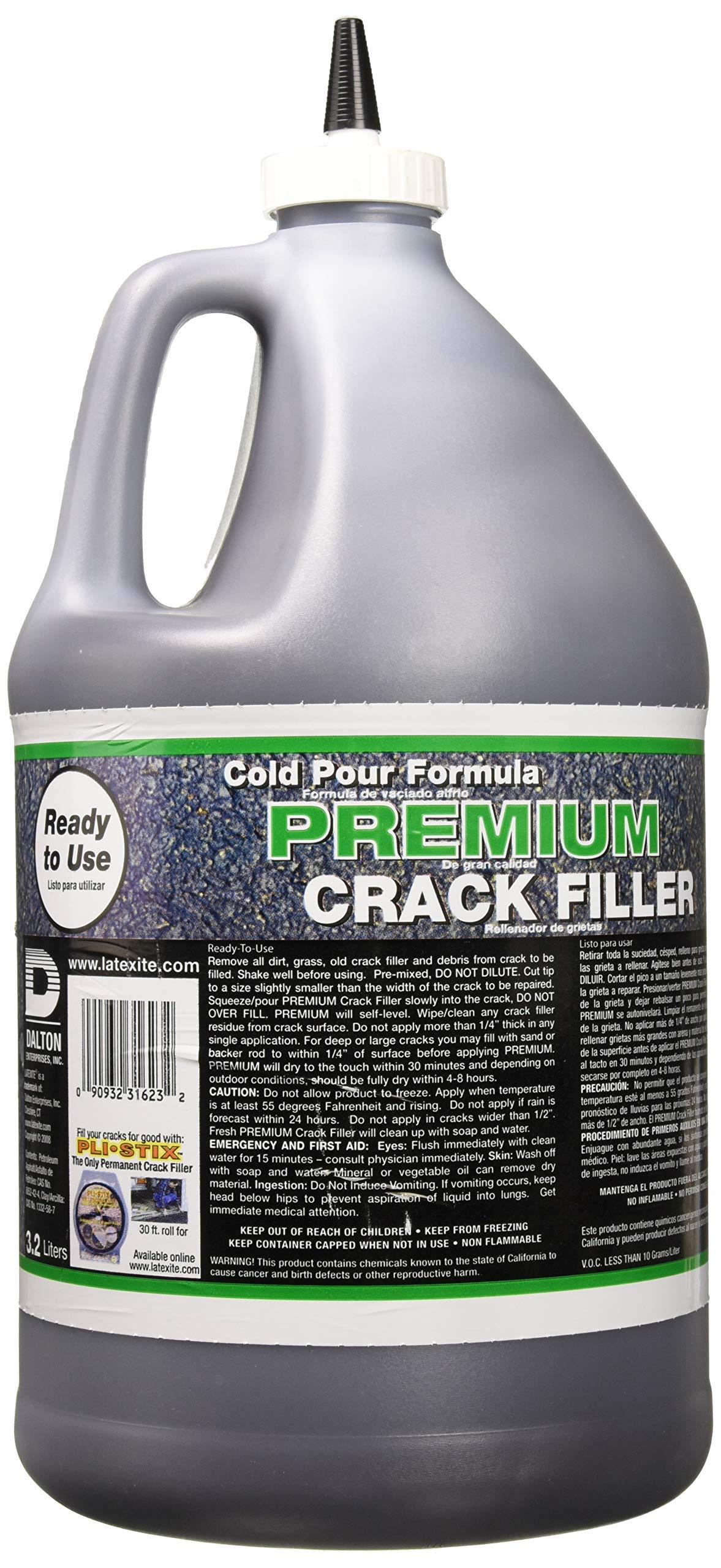 DALTON ENTERPRISES 31623 Latex-Ite Premium Crack Filler, 1 Gal by Dalton Enterprises (Image #2)