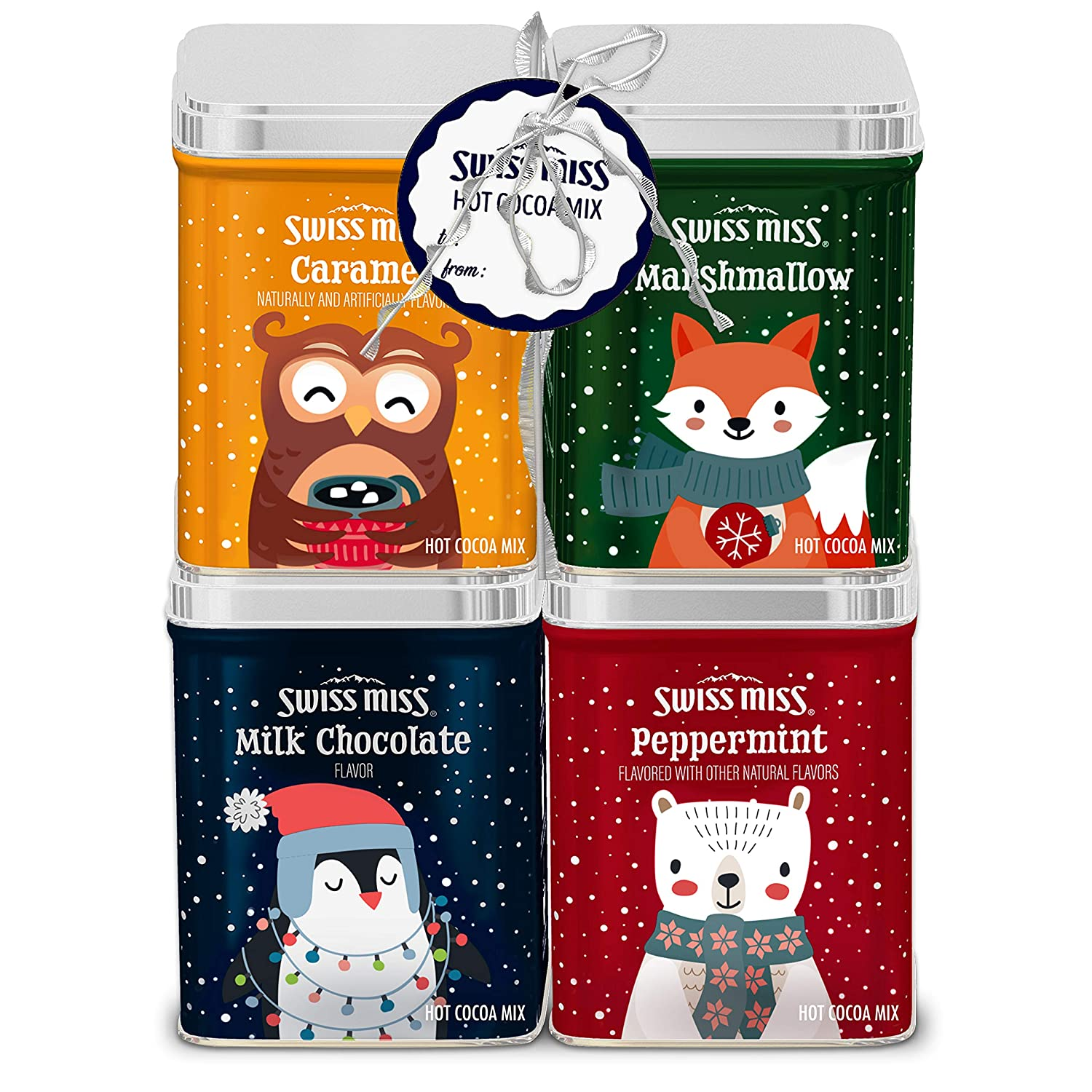 Swiss Miss Gift Pack Tins Woodland Characters, 5.52 Oz