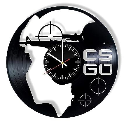 Amazon com: CSGO Vinyl Clock - Counter-Strike: Global