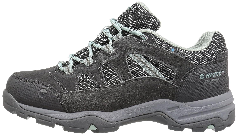 Hi-Tec Women's Bandera II Low Waterproof Hiking Shoe B01HNL6FDE 9 D US|Charcoal/Cool Grey/Lichen