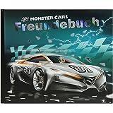 Monster Cars Freundebuch Freundealbum Auto Blau