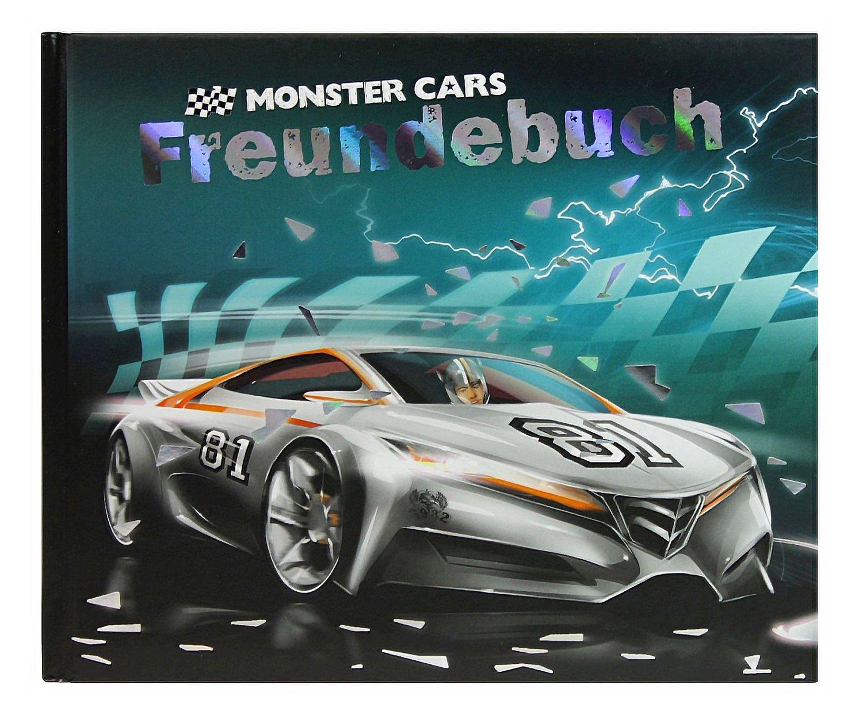 Monster Cars Freundebuch Fur Jungen Ca X X Cm