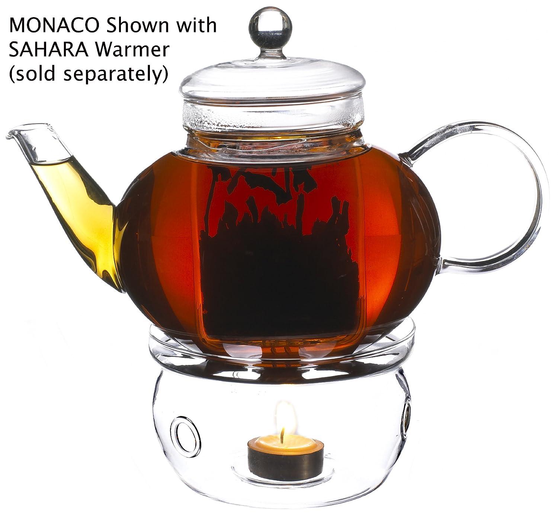 SAHARA Teapot Warmer by GROSCHE; Heat proof High Quality Glass,In original Grosche branded box GR 138 SAHARA