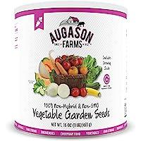 Augason Farms 5-14000 Vegetable Garden Seeds 13 Variety 1 lb No. 10 Can
