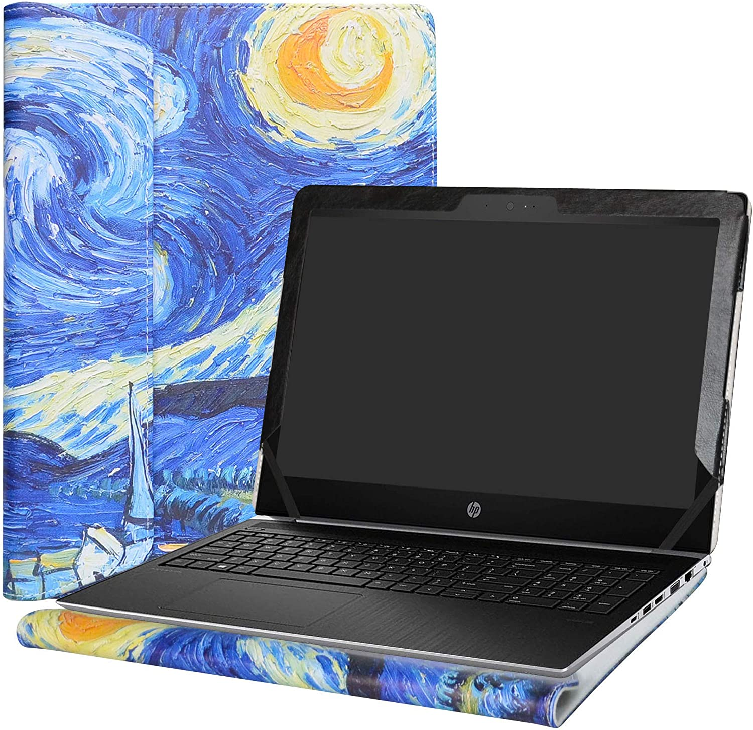 """Alapmk Protective Case for 14"""" HP ProBook 440 G5 & HP mt21/mt43 & HP ZBook 14u G4 & HP EliteBook 745 G4 G3 G2/EliteBook 840 G4 G3 G2/EliteBook 1040 G3 Laptop(Warning:Pls Note Picture 2),Starry Night"""