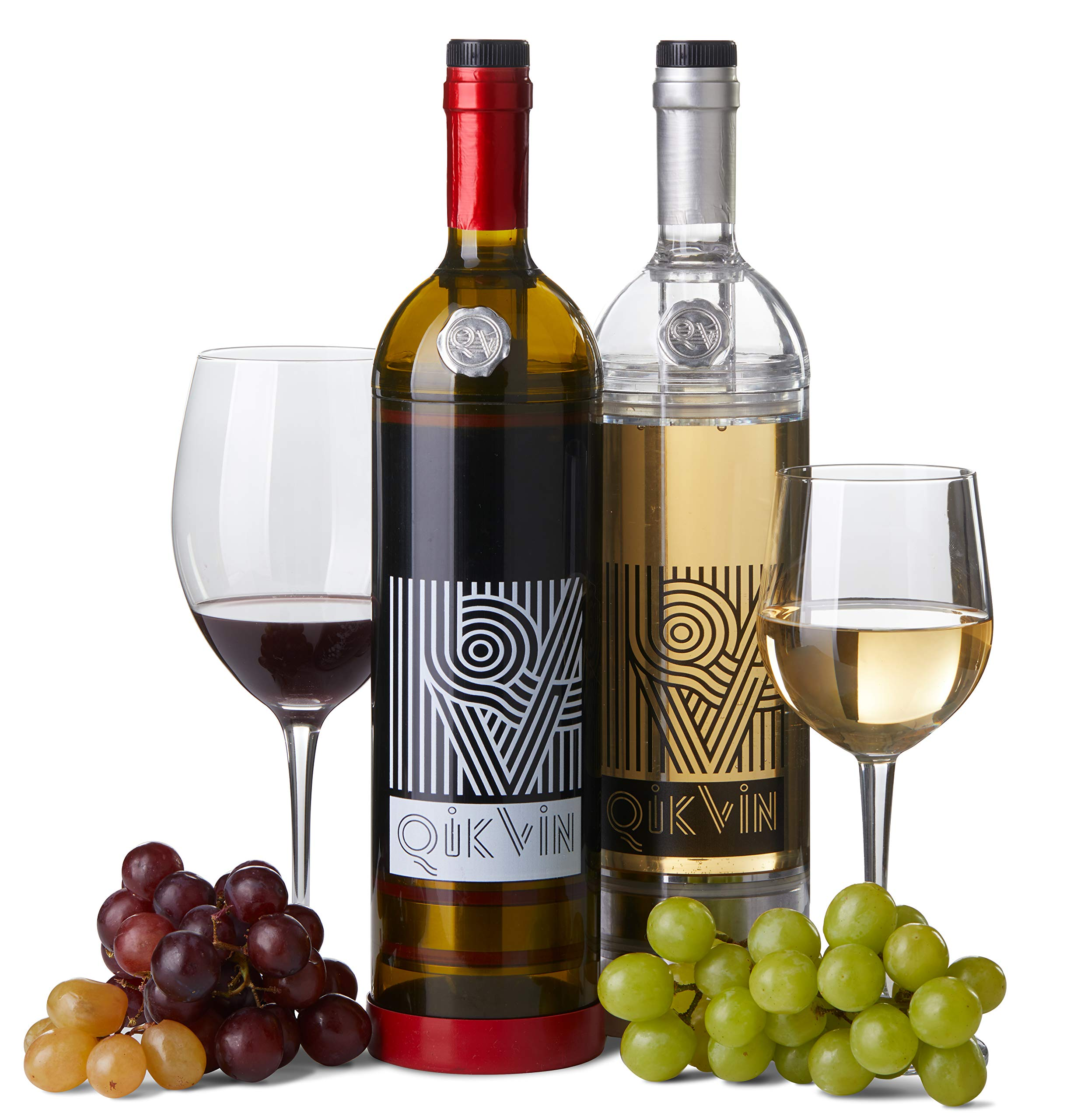 QikVin Wine Preservation System -Green All Wine Edition by QIKVIN RAISING WINE TO NEW HEIGHTS! (Image #5)
