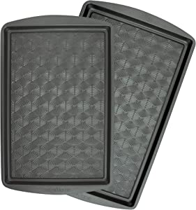 Taste of Home 2-Piece Non-Stick Metal Baking Sheet Set 15x10 and 17x11