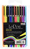 Uchida 10 Piece Le Neon Pen Mix, Set