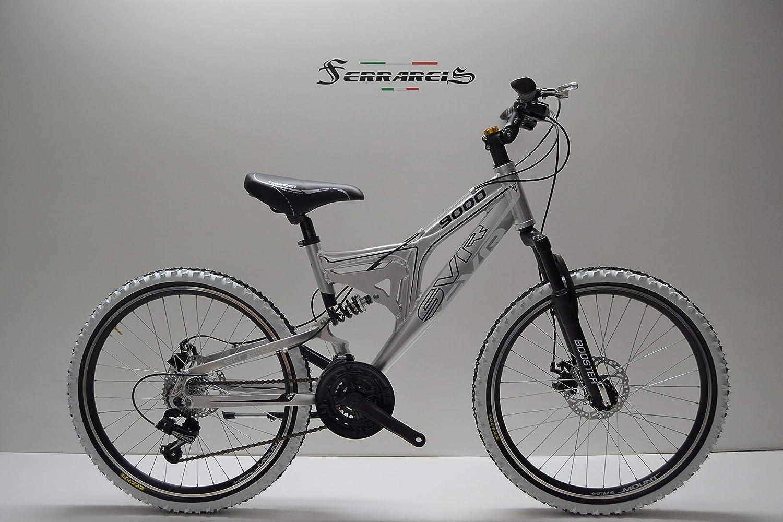 Bicicleta Ferrareis MTB 24 bi, amortiguada en Aluminio 21 V ...