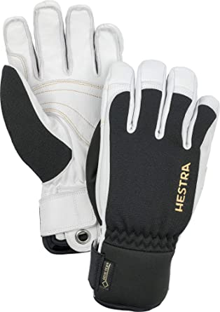Hestra Alpine Pro Army Leather GORE-TEX Size 8 Unisex Skiing Gloves Snowboard