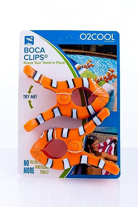 Clips de toalla de playa, diseño de pez payaso, de Boca: Amazon.es: Jardín
