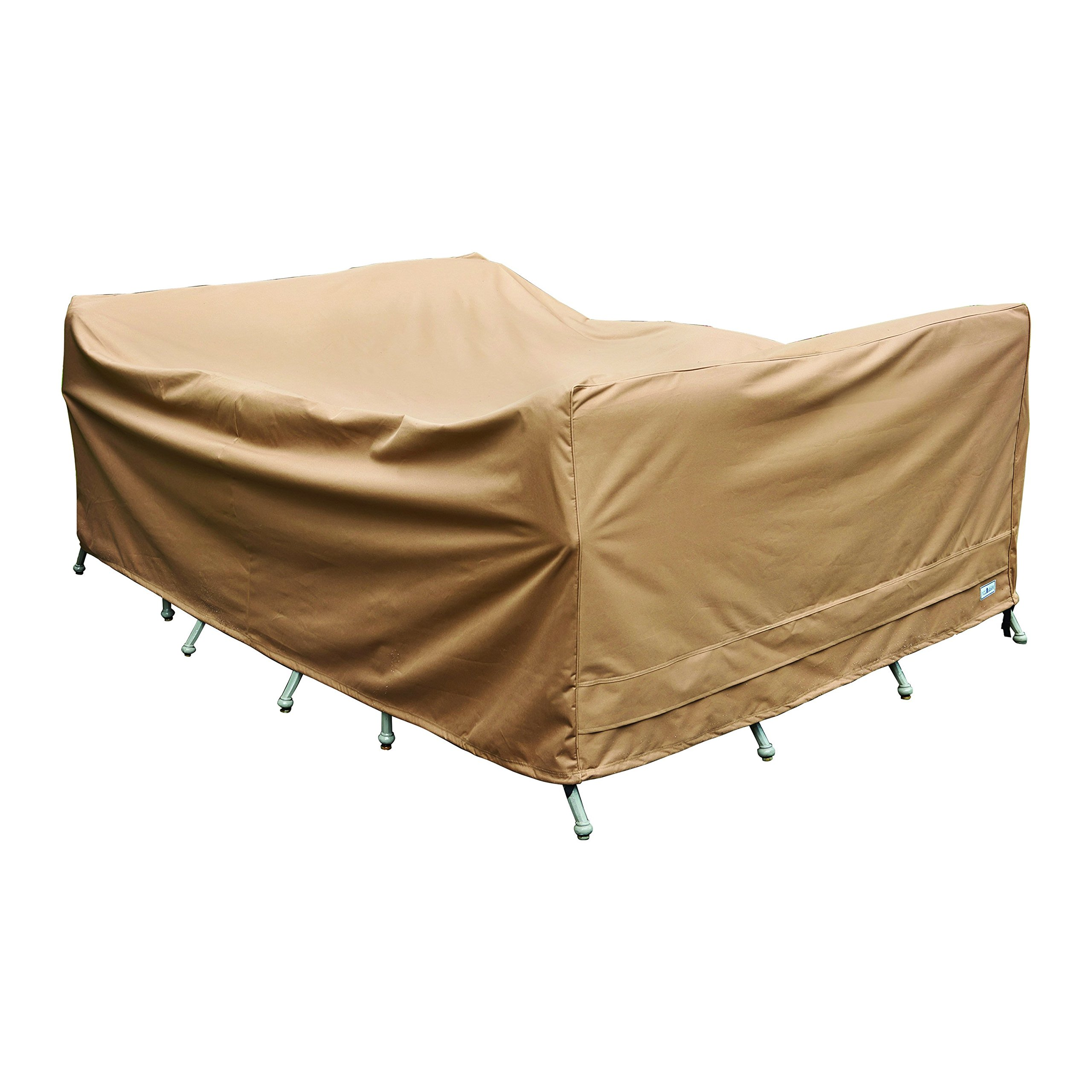 Patio Armor SF43349 Chat Set Cover, 115''/70''/36''