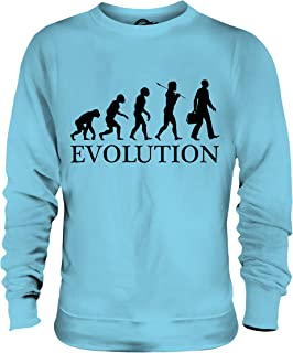 Candymix - Businessman Evolution of Man - Unisex Sweatshirt Mens Ladies Sweater Jumper Top