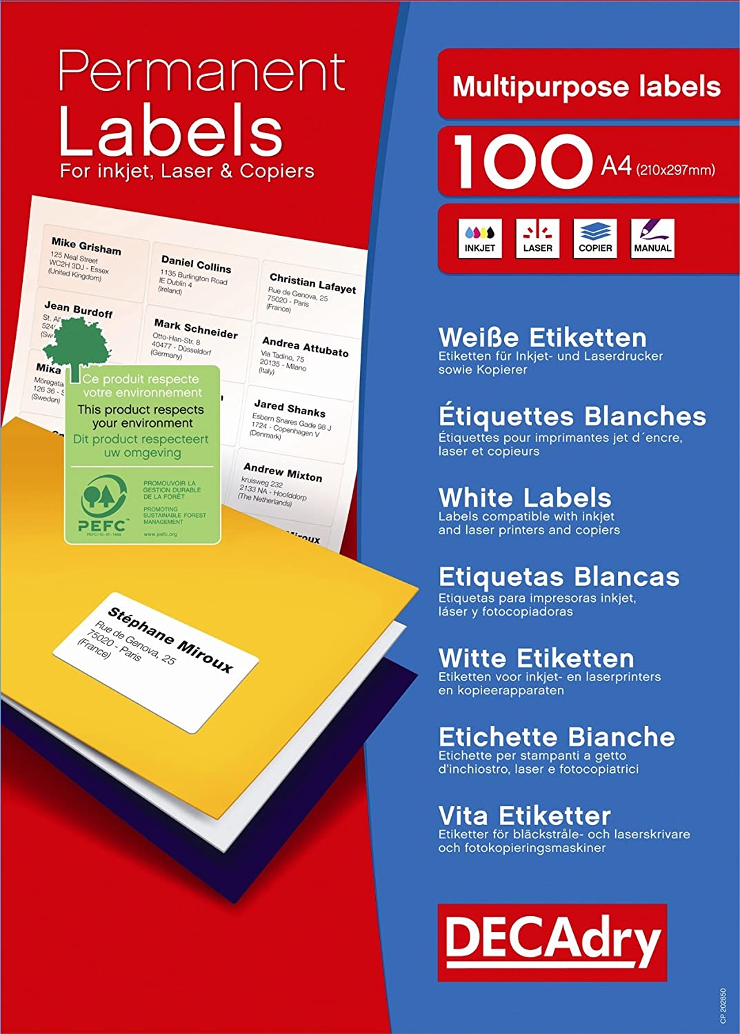FOOD SAFETY SHELF LIFE STICKERS DATE 750 LABELS CATERING £9.99 FREE POSTAGE