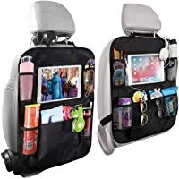 Home-Mart Car Organisers,2 Pack Car Back Seat Organiser for Kids,Car Seatback Protector with 10inch Tablet Holder…