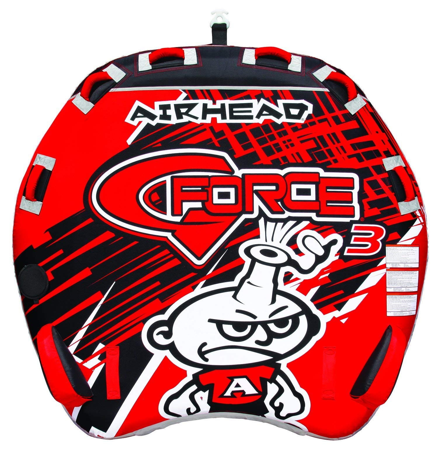 AIRHEAD AHGF-3 G-Force Inflatable Towable (Renewed) by Airhead
