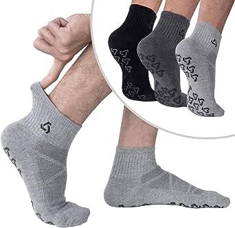Amazon.com: Calcetines antideslizantes con agarres ...