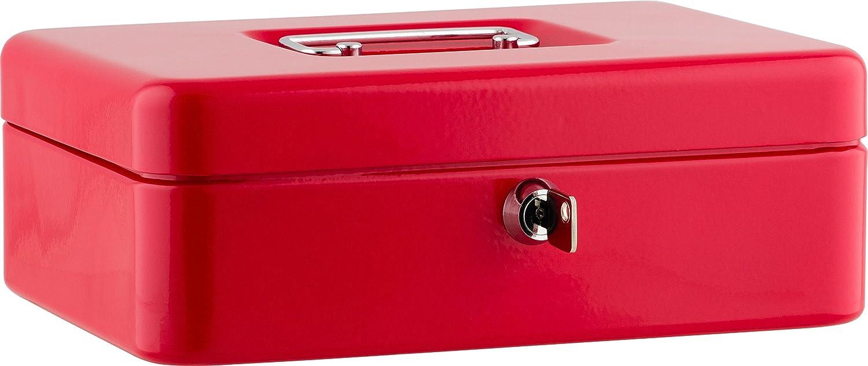 Caisse /à monnaie B 25 x H 9 x T 18 cm rot Sax