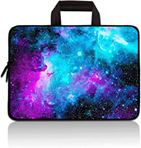 "11"" 11.6"" 12"" 12.1"" 12.5 Inch Laptop Carrying Bag Case Notebook Ultrabook Bag Tablet Cover Neoprene Sleeve Briefcase Bag Compatible with Samsung Google Acer HP DELL Asus(Galaxy)"