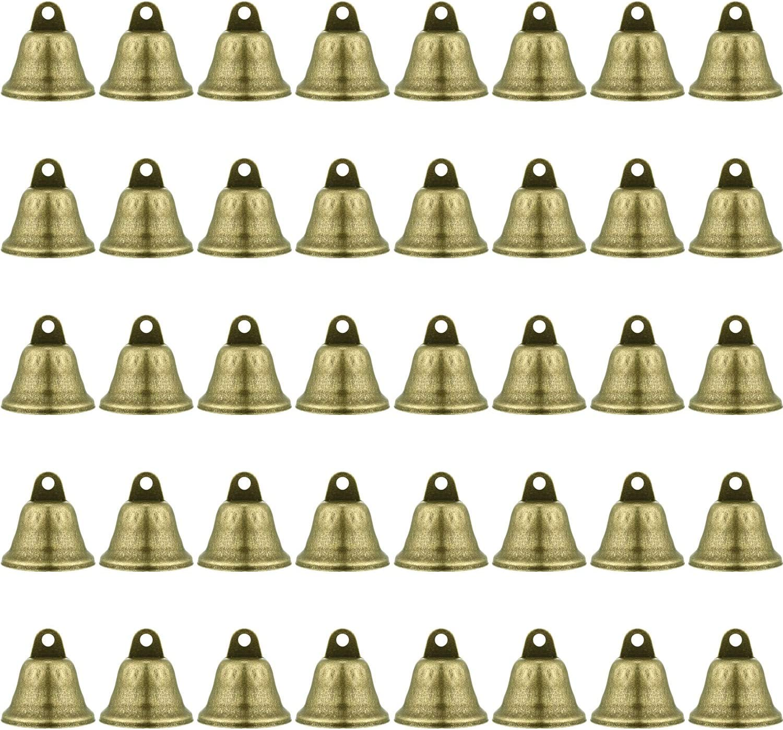 100 Pcs Iron Jingle Bells Multicolor Y3W8
