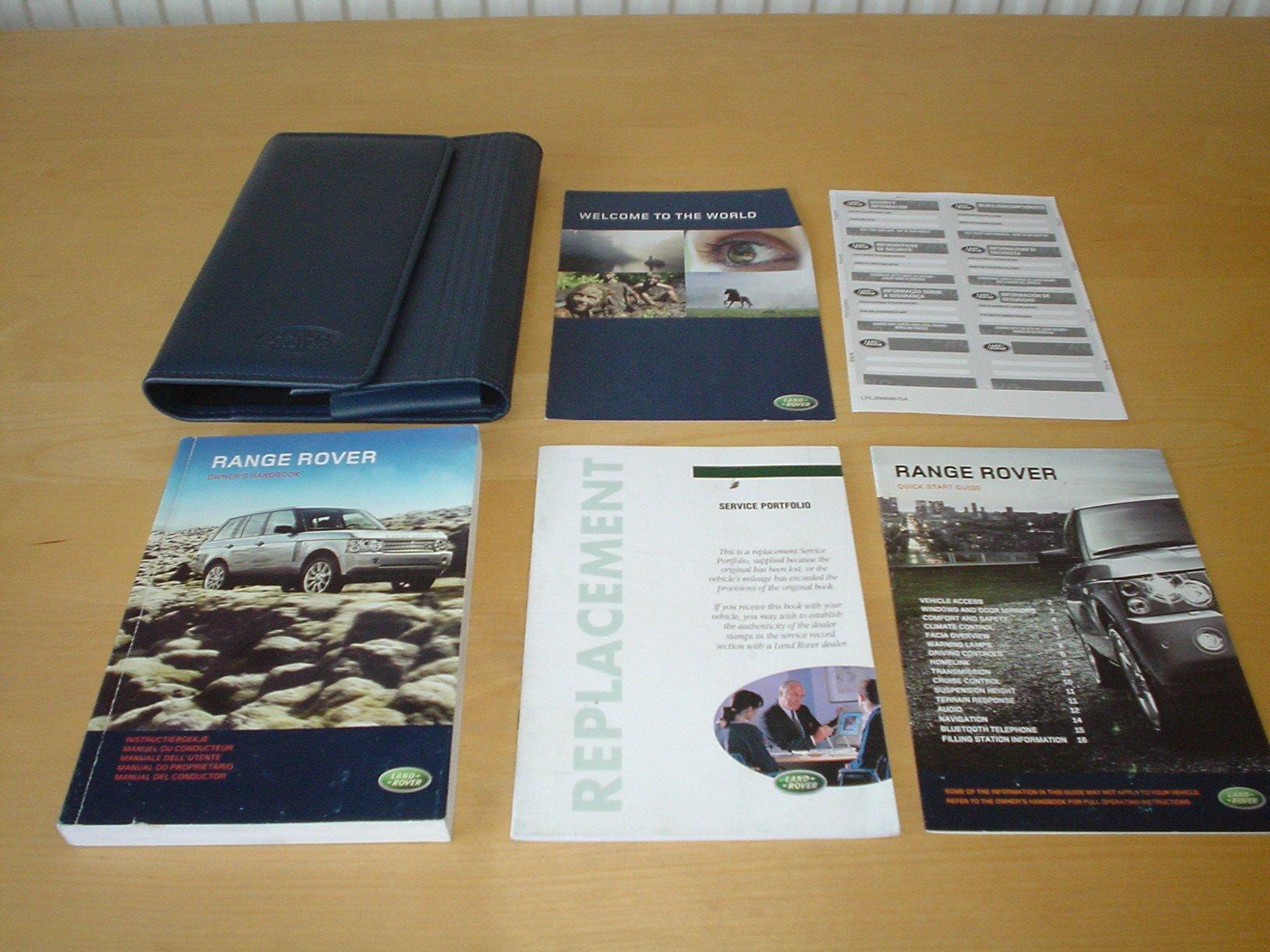 RANGE ROVER L322 OWNERS MANUAL HANDBOOK (2006 - 2012) - 4 2