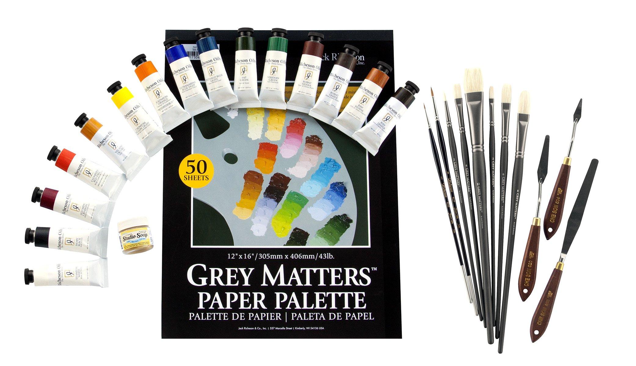 Alan Flattmann Basic Oil Painting Workshop Kit by Alan Flattmann