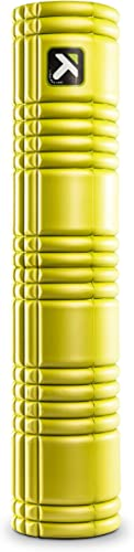 TriggerPoint GRID Foam Roller with Free Online Instructional Videos, 2.0 26-inch , Lime