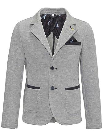 pretty nice b7b75 a5ede Armani Junior Boys  Blazer - Grey - 128 cm
