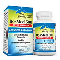 Terry Naturally BosMed 500-500 mg Boswellia, 60 Softgels - Clinically Studied Boswellia...