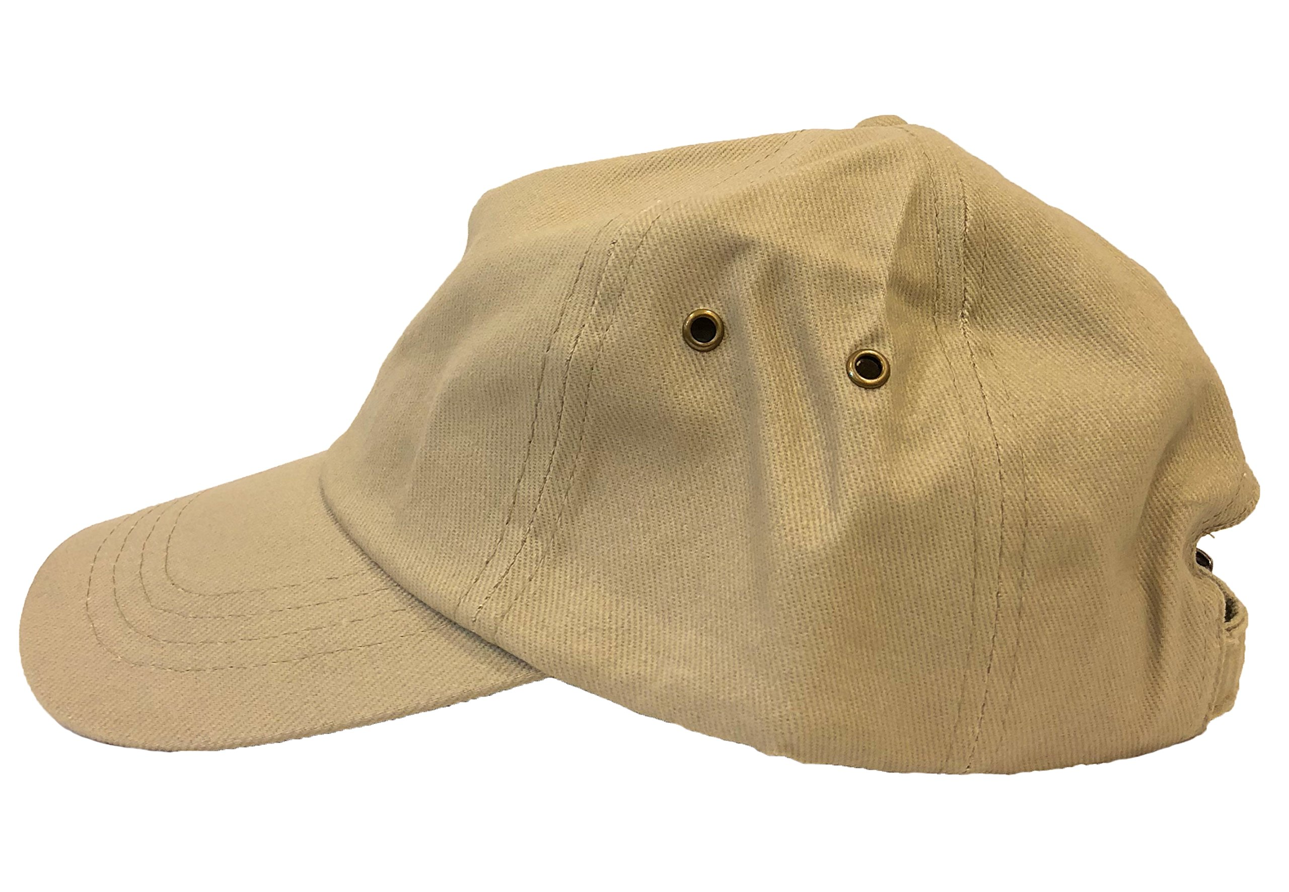 Tcombo Kanye for President 2024 Dad Hat (Stone) by Tcombo (Image #3)