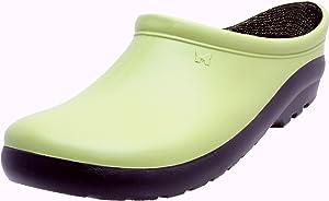 Sloggers Women'sPremium Garden Clog,Kiwi Green, Size 8, Style 260KW08