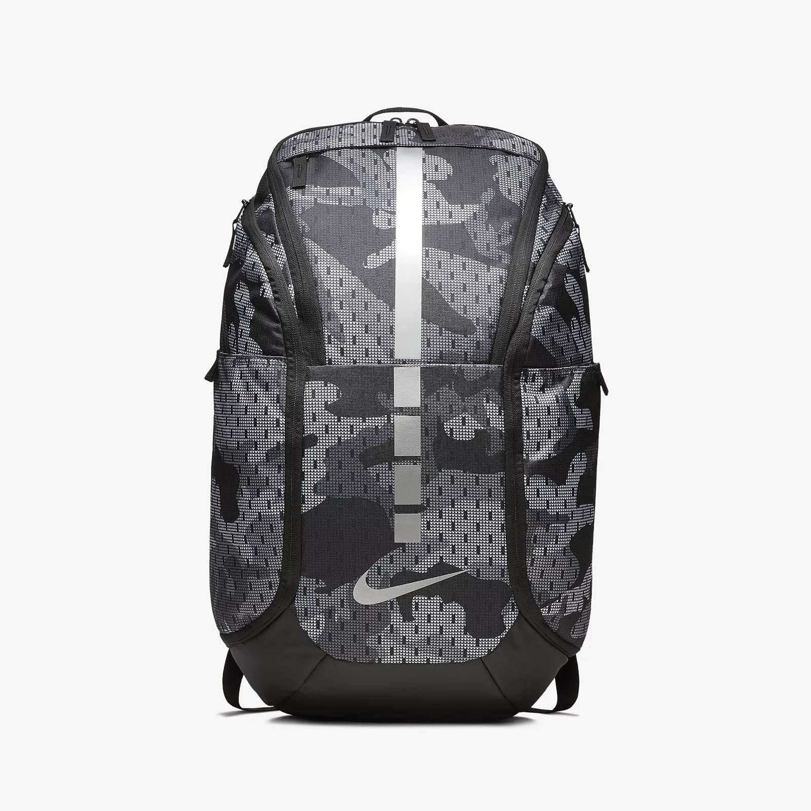 1b5de21601f Galleon - Nike Hoops Elite Hoops Pro Basketball Camo Backpack Gym  (Gunsmoke/Black/Metallic Cool Grey)