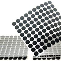 TUKA-i-AKUT 900 Stuks 10mm Klittenbandpunten Zelfklevend, Sterk en Robuust, Haak + Lus Stippen, 450 Paar Klevende…